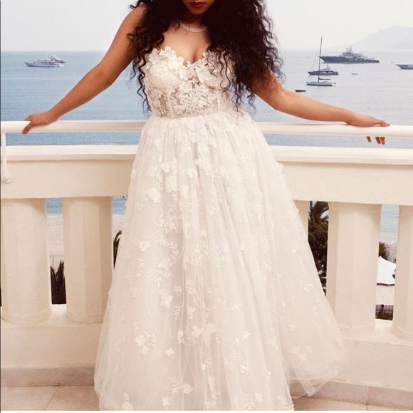 Hm Wedding Dress.Giambattista Valli X Hm Nwt